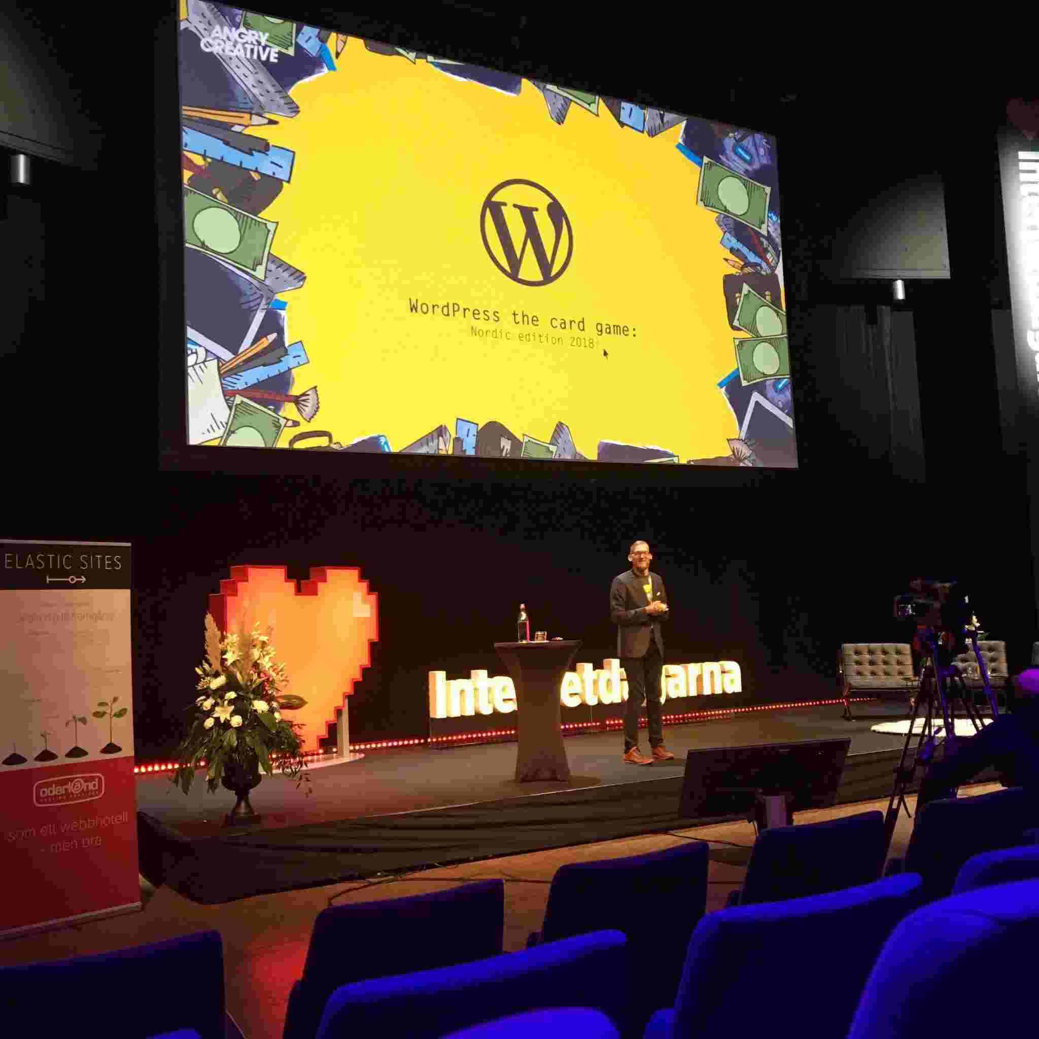WordCamp Stockholm 2017 & WordPress the Card Game