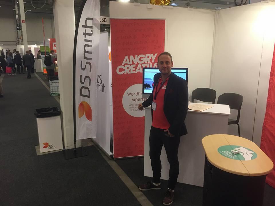 Angry Creative på Ecommerce Stockholm 2017